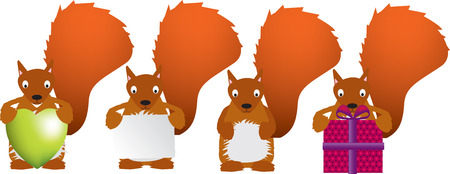 Squirrel Stock Vector - 4525940
