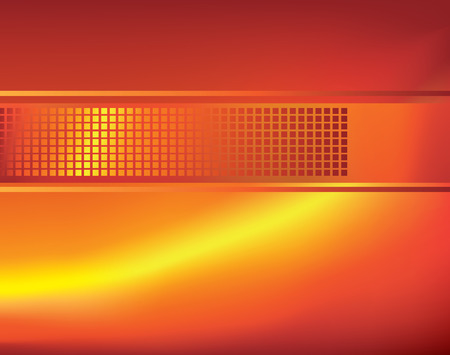 A modern orange abstract background using gradient mesh and blends. Vector