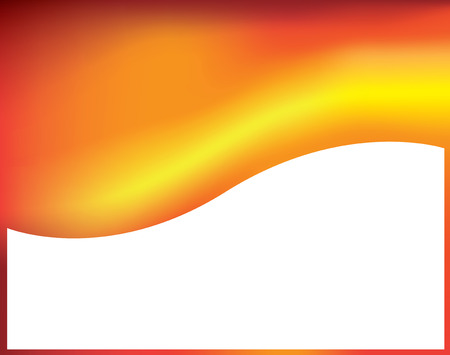 A modern orange abstract background using gradient mesh and blends. Illustration