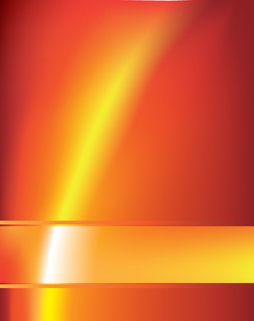 A modern abstract orange background using gradient mesh and blends. Vector