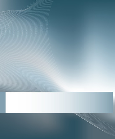 A modern abstract background using gradient mesh and blends. Stock Vector - 4553533