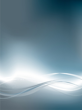 A modern abstract background using gradient mesh and blends. Stock Vector - 4553535