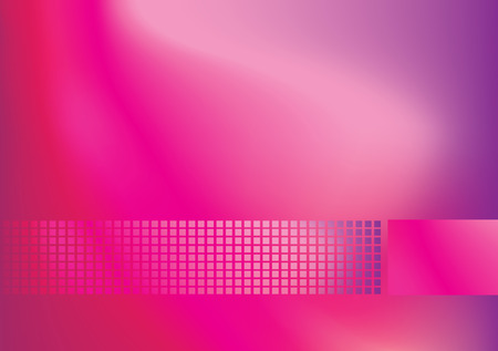 A modern abstract background using gradient mesh and blends. Vector