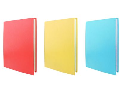 hardback: casebound hardback set of books isolated on a white background