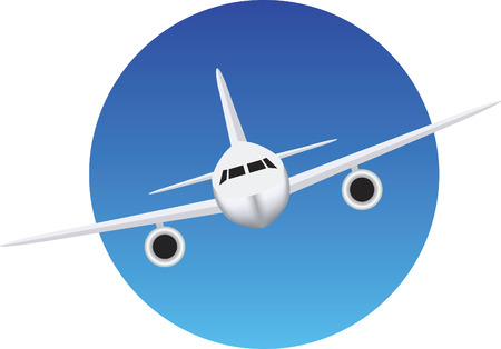 airport: Symbol for flights, aeroplanes and airports