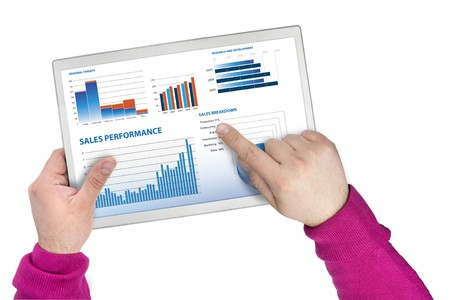 selection of financial and economic graphs measuring business performance Stock Photo - 6967800
