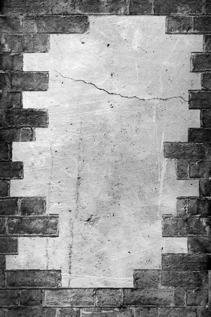 plastered: background texture of a very rough texture plastered wall