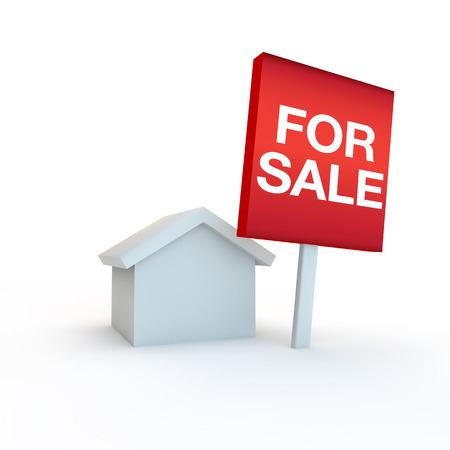 3d render of a moving house icon Stock Photo - 27306750