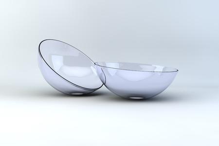 lentes contacto: lentes de contacto vista macro 3d