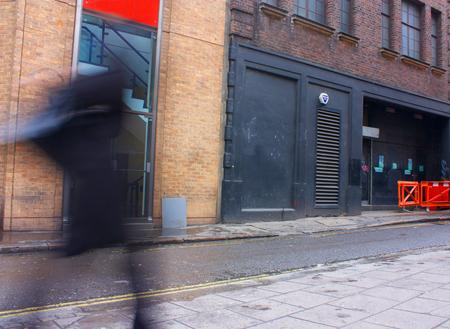 backdoor: london street backdoor grafitti entrance or cool docklands type warehouse