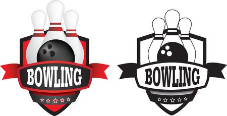 Schild oder Logo-Badge einen Sportverein als Vektor darstellen Logo