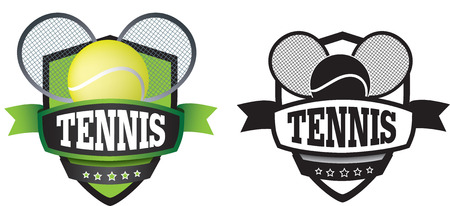 sports club: shield or logo badge to represent a sports club as a vector Illustration
