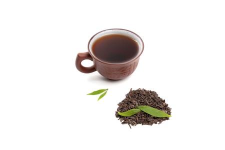 Chinese pu-erh tea  photo