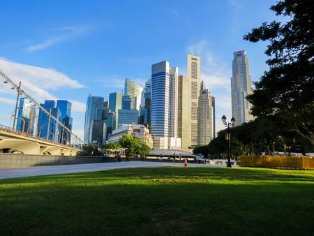singapore city: Singapore city Stock Photo