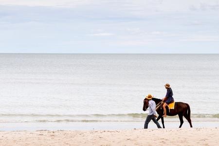 mounted: Gemonteerd op het strand