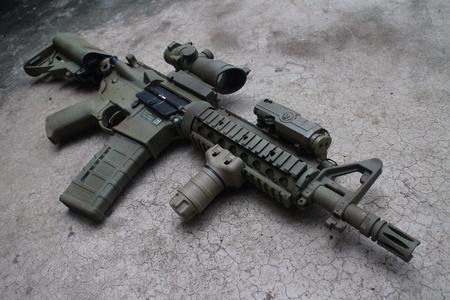bb gun: M4A1 airsoft gun