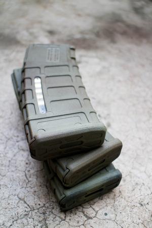 airsoft gun: Polymer Airsoft gun magazine