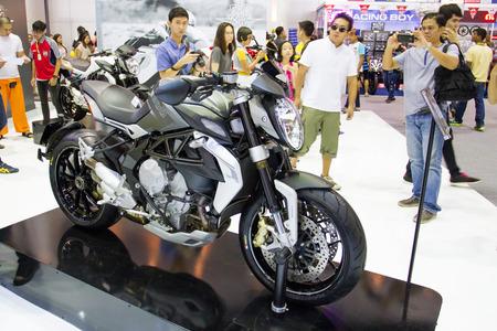 showed: Super bike showed on display Editorial