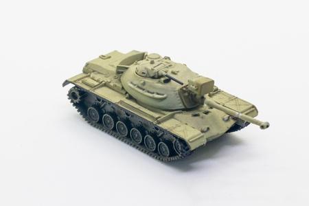 world war ii: World war II tank model isolate on white background