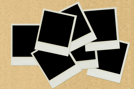 blank black frame