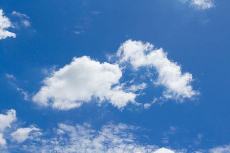 skylight: Cloud with blue sky Stock Photo