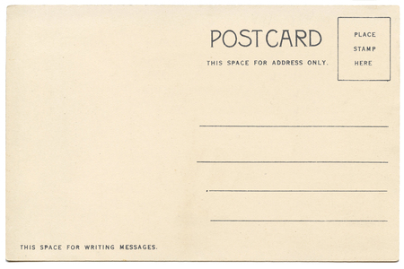 back of vintage blank postcard stock photo picture and royalty free