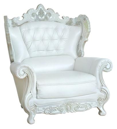 antique chair: Luxurious armchair Stock Photo