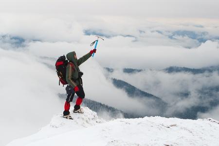 conquest: man conquest the peak