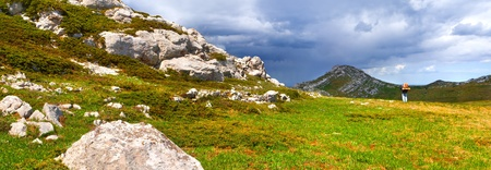 Summer landscape in the Crimea photo