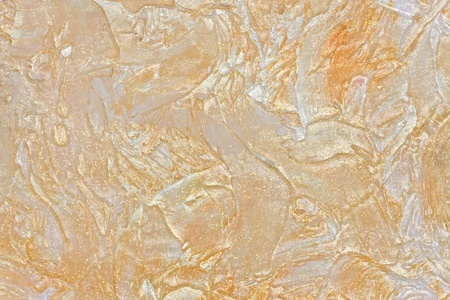 glitter gloss: large texture of wall painted beige with gloss and glitter