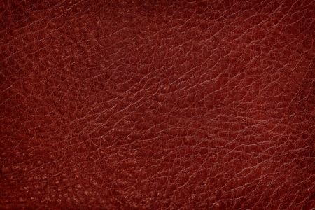 Old leather, dark red texture photo