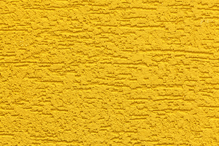 Large Texture Of Wall Painted Yellow Stock Photo, Picture And ...
