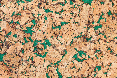 memorise: Large corkboard texture with green paint
