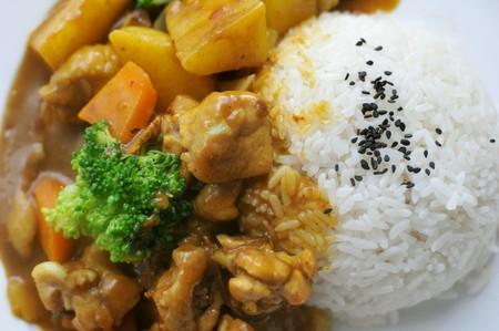 Curry Chicken donburi