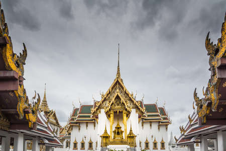 the grand palace: Part of the Grand Palace, Thailand.