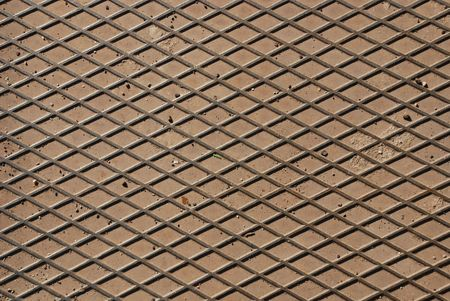durable: Hard, durable flooring made out of a metal grill