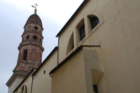 chiesa: The Chiesa di San Francesco in a small Tuscan town