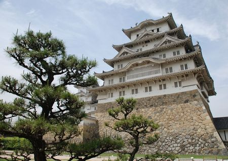 The fairytale castle at Himeji, Japans most iconic castle