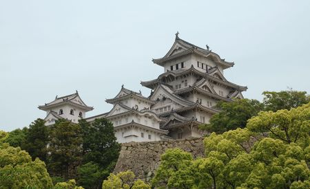 The fairytale castle at Himeji, Japans most iconic castle and a UNESCO World Heritage Site
