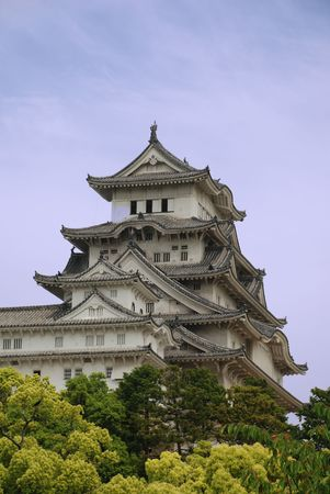 The fairytale castle at Himeji, Japans most iconic castle and a UNESCO World Heritage Site  Redakční