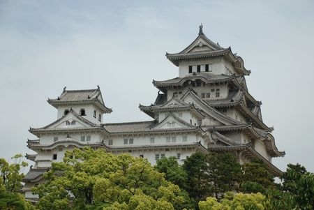 The fairytale castle at Himeji, Japans most iconic castle and a UNESCO World Heritage Site  Editorial
