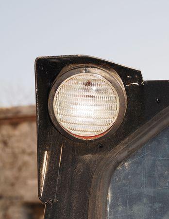 bulldoze: A light Stock Photo