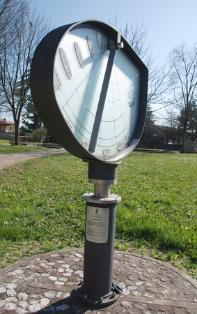 cadran solaire: La Hauteur Cadran solaire ou Orologio Solare d