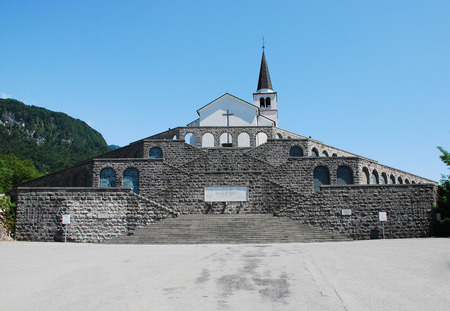 littoral: The Italian Charnal House located on Gradic Hill in Kobarid, in the Littoral region of north east Slovenia. Opened in 1938, it contains the remains of 7,000 Italian solders who were killed in the First World War. The church Kostnica Cerkvijo Sv. Antona Ch