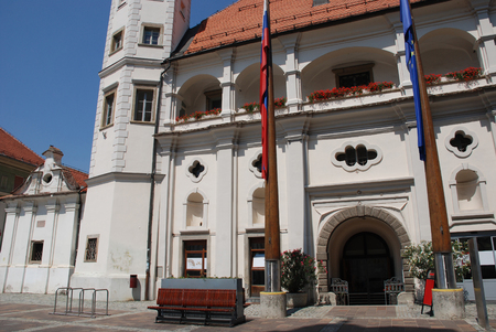 slovenian: The 15th century castle in the eastern Slovenian city of Maribor Editorial