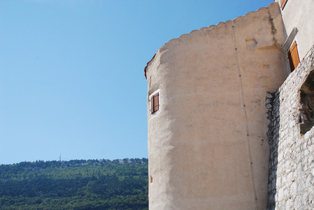 commissioned: The 16th century castle at Bakar. This Frangipane fortress was commissioned in 1530 by King Ferdinand I.