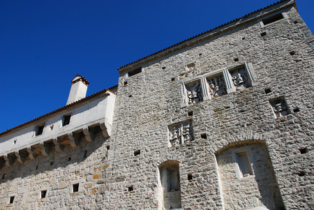 10th: The medieval fortification of Pazin Castle, known as Kastel Pazin in Croatian, is the largest and best preserved castle in Istria. It was constructed of hewn stone or ashlar in the 10th century.