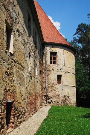 grad: The historic Grad Castle is located in the Prekmurje region of Slovenia and dates from the 12th century.