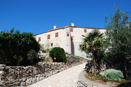 ferdinand: The 16th century castle at Bakar. This Frangipane fortress was commissioned in 1530 by King Ferdinand I.