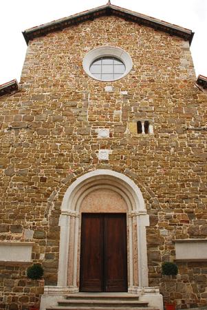The Abbazia di Rosazzo - Rosazzo Abbey - which dates back to around 1070 and is located in Friuli, north east Italy.